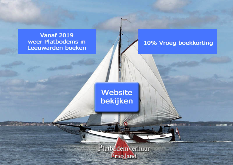 Platbodemverhuur Friesland