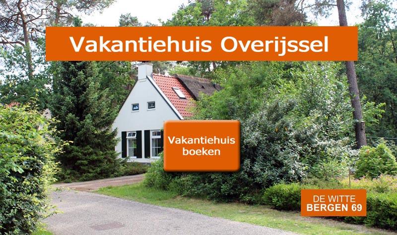 Vakantiehuis Witte Bergen 69, IJhorst, Overijssel
